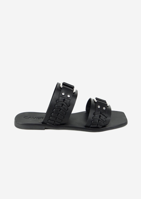 Tabby Slide Black