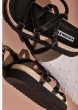 Load image into Gallery viewer, Chase Sandal Black