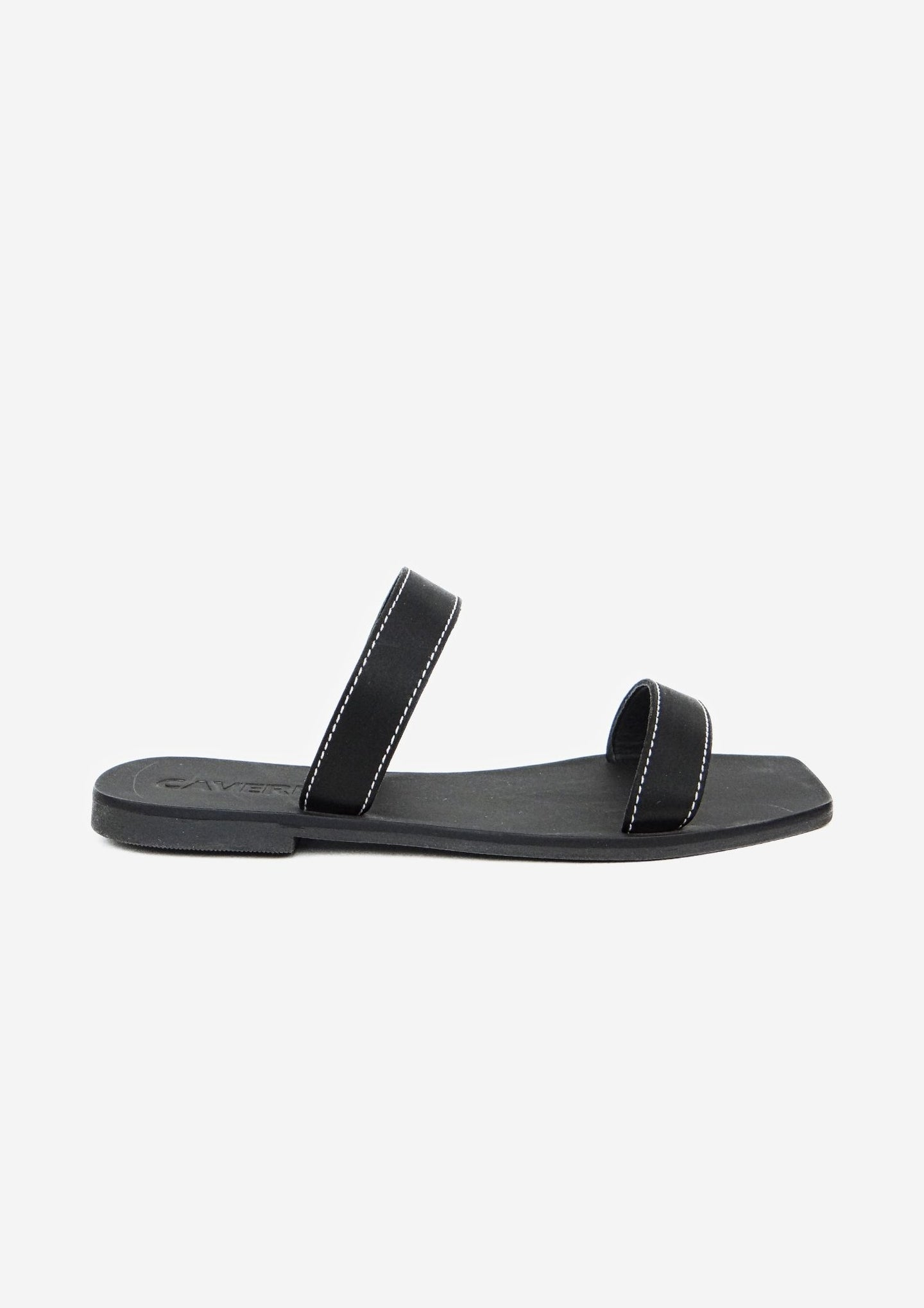 Kay Slide Black Satin