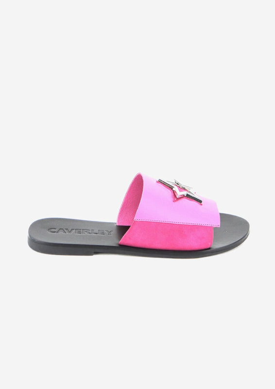 Luna Slide Hot Pink