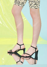 Load image into Gallery viewer, Matilda Heel Black