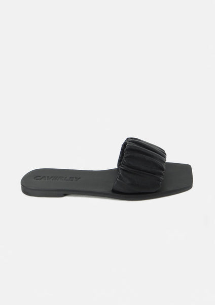 Scrunch Slide Black