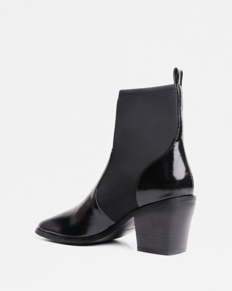 Tyler Boot Patent Black